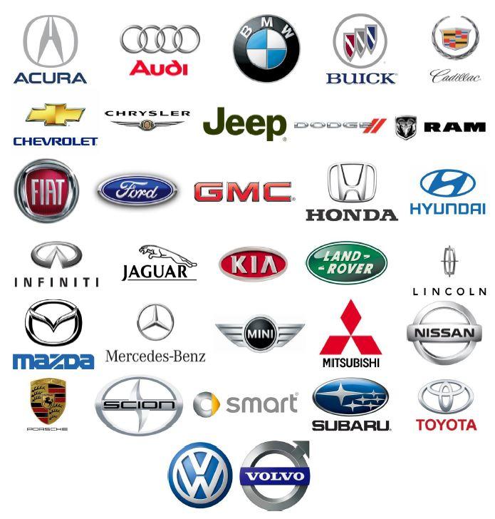 Manufacturers logos